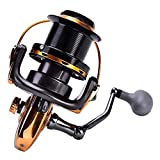 Alomejor 1 Stück Angelrolle 12 + 1BB Metallic Casting Sea Angelrolle High Speed ​​Spinning...