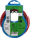Profiplast PRP500616 - Bobina de cable (H07V-R, 6 mm² x 5 m), color rojo
