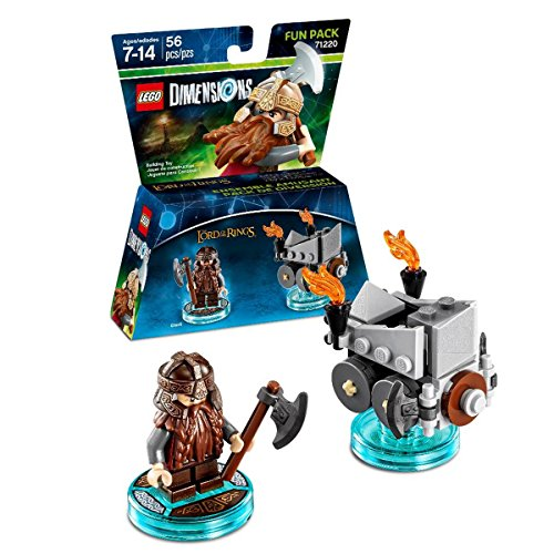 Lord Of The Rings Gimli Fun Pack - LEGO Dimensions...