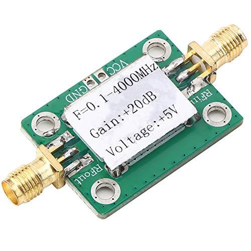 Amplificador de banda ancha, 0.1-4000MHz Amplificador de banda ancha de 20dB de bajo ruido con módulo RF de microondas AMP LNA