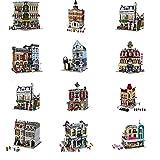 XSLY Street View serie del edificio del Bloque de construcción de juguete de bricolaje Montado regalos bloquea los juguetes de alta Difícil conjunto apilado niños de juguete for adultos Aprender Diver