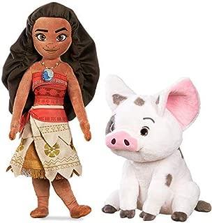 Moana Plush Doll 20'' H & Pua Plush Medium 13'' H Pair
