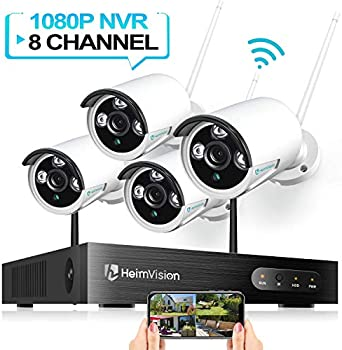 HeimVision HM241 1080P Wireless Security 4-Camera System