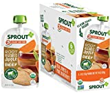 Sprout Organic Baby Food Pouches Stage 3, Root Vegetables Apple w/ Beef, 4 Ounce Pouches (...