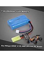 7.4V 850mAh Li-ion Battery for PXtoys 9302 1/18 4WD Off-road RC Buggy