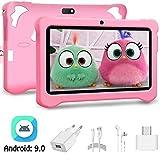 Tablet Bambini 7 Pollici Android 9.0 Pie con Wifi Offerte ,Tablet per bambini 3GB RAM 32GB ROM/128GB Tablet PC con | Netflix | Disney + | OTG - Google Play e Gioco Educativo, Certificato da Google GMS