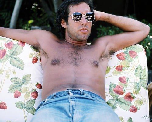 Chevy Chase barechested Hunk Hochformat Sonnenbrille 10x 8Werbe Foto