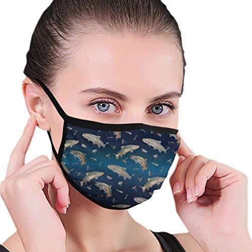 Maschera per il viso da nuoto in cotone antipolvere per uomo e donna