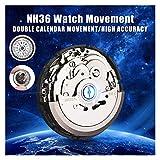 RJJX Movimiento automático de Relojes Hombre Piezas Movimiento de Reloj mecánico NH36 Movimiento Reloj Reemplazar Accesorios