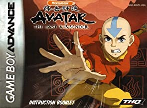Avatar The Last Airbender GBA Instruction Booklet (Game Boy Advance Manual only) (Nintendo Game Boy Advance Manual)