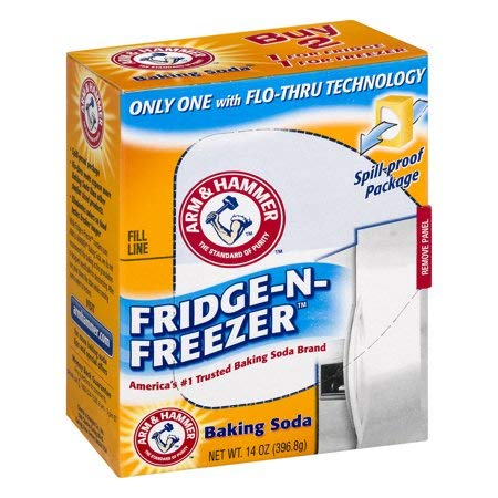 Arm & Hammer Baking Soda Fridge-N-Freezer, 14 oz (4 Pack)