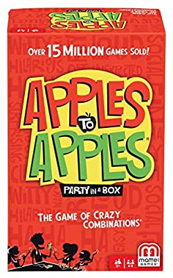 Mattel Apples to Apples Party in a Box Game by Mattel Games