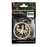 sagl.tirol holzmanufaktur Natürlicher Autoduft aus Zirben Holz inkl. 5ml Zirben Raumparfum (Tiroler Adler)