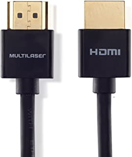 Cabo Hdmi Ultra Slim 3,0M 19 Pinos Para Tv Wi284 Multilaser