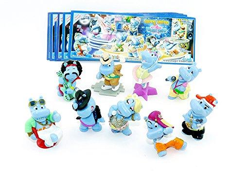 Kinder Überraschung Happy Hippo Talent Show (Sätze Deutschland)