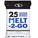 Snow Joe AZ-25-CC Melt-2-Go Resealable Bag Premium Calcium Chloride Crystal Ice Melter, 25 lb, 25 lb Bag