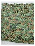 LGLFDJ Malla de Camuflaje Sombreo Jardín, De Tela Oxford, de la Selva, Caza de Caza Antiaérea Acampando Escondida para Actividades Al Aire Libre Acampar Red de Camuflaje (Size : 10m×20m)