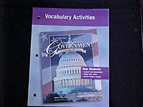 Vocabulary Activities (United States Government, Democracy in Action)