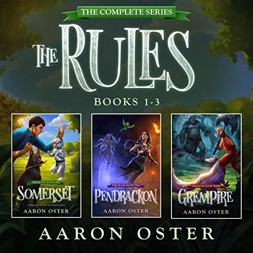 The Rules: The Complete Series Audiobook By Aaron Oster cover art