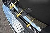 Gyxb Protector De Umbral De ProteccióN De Parachoques Trasero De Coche, para Ford KUGA II MK2 2013-2016, Cubierta De ProteccióN De Panel De EscalóN Trasero De Acero Inoxidable, Placas De ProteccióN