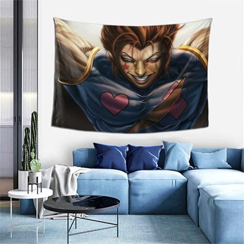 HUNTER×HUNTER Hisoka (4).pngTapiz para dormitorio, sala de estar, dormitorio o pared para colgar tapices de decoración de pared 152 x 100 cm