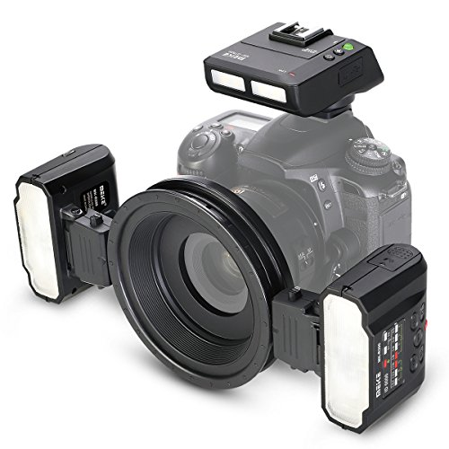 Meike MK-MT24 macro Twin Lite flash per fotocamere digitali Nikon