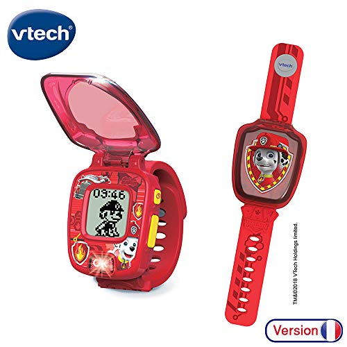 Vtech Interaktive Armbanduhr von Marcus Paw Patrol-Pat\', Spielzeug, elektronisch, Lernspielzeug, 80 – 199565, Mehrfarbig