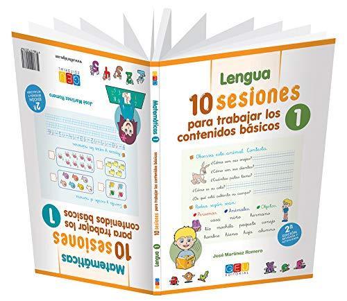10 Sesiones para trabajar los contenido básicos : lengua y matemáticas 1