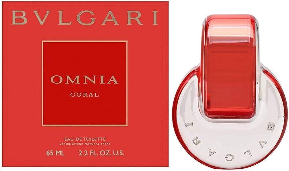 Bvlgari omnia coral, eau de toilette per donna, 65 ml BUL44250