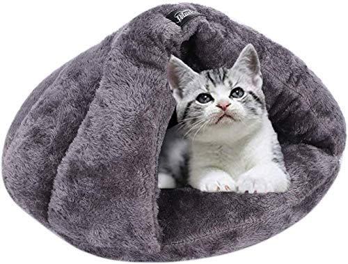 Cama para perro gato triángulo cojín mullido cachorro cama de dormir gato invierno otoño Dodo perro grueso suave capazo gato cálido casa interior cama para animales de compañía lavable