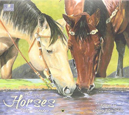 Legacy Publishing Group 2017 Wall Calendar, Horses
