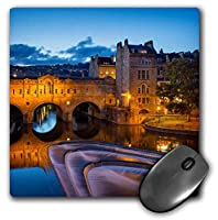 3dRose Pulteney Bridge Over River Avon, Somerset, England, Mouse Pad, 8' by 8' (mp_228038_1) [並行輸入品]