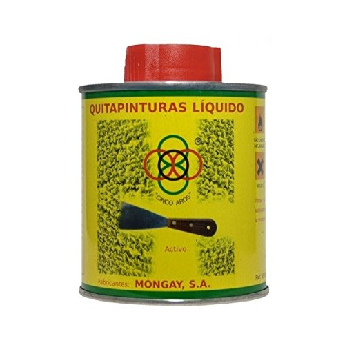 QUITAPINTURAS CINCO AROS 750 ml.