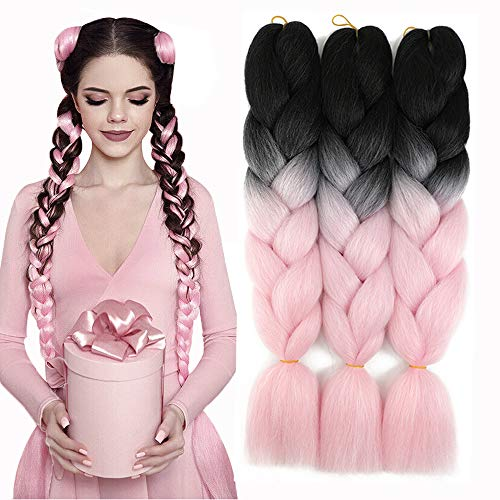 Yami Synthetic Ombre Jumbo Braids Hair Extension