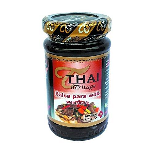 Sauce Wok 110G THAI HERITAG - Ideal Para Marinar Pollos y Carnes - Producto Thailandes- 110 Gramos