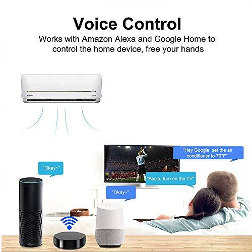 Telecomando IR intelligente Smart Home Automation WiFi Hub di controllo IR universale compatibile con Alexa e Google Home per smartphone Android Apple