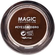 Magic Collection Matte Waterproof Eyebrow Gel 0.11oz Dark Brown