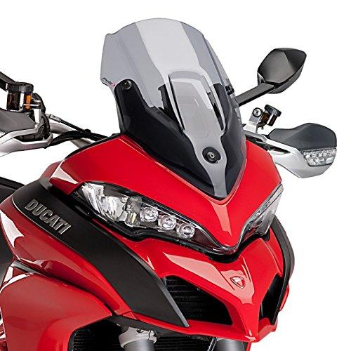 Racingscheibe für Ducati Multistrada 1260 S/D-Air 18-19 rauchgrau Puig 7622h