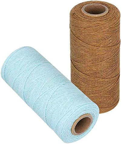 L 2 Rolls Pure SALENEW very popular Cotton Yarn Free shipping Tensile Warp 4 Thread Resistant 8 for