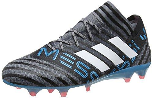 adidas Herren Nemeziz Messi 17.1 FG Fußballschuhe, Grau (Grey/Footwear White/Core Black), 46 EU