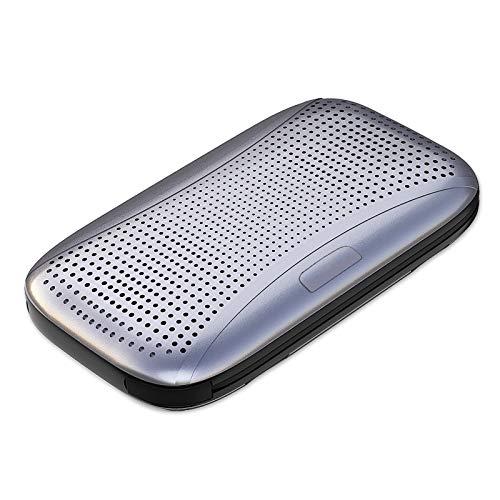 Altavoces Bluetooth portátiles, altavoz de viaje inalámbrico impermeable al aire libre con micrófono, micrófono integrado, sonido envolvente 360 HD altavoz inalámbrico