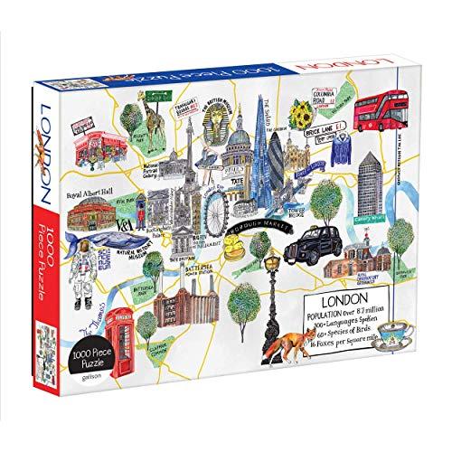 Puzzle Londres marca MudPuppy