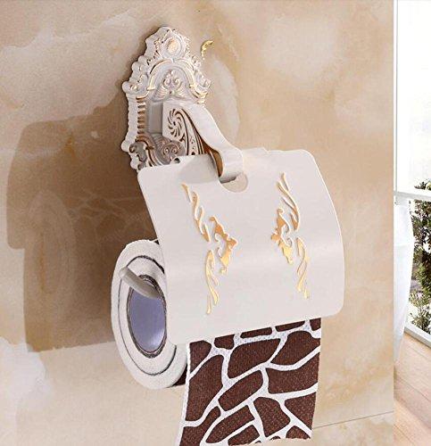 Distributeur de papier toilette cristal antique marron WC Porte-Rouleau Maison de campagne Bain