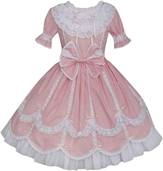 Black lace satin velvet bow hair clip gothic lolita tie ballerina ballet victorian vintage retro princess kawaii cosplay anime witch liliac