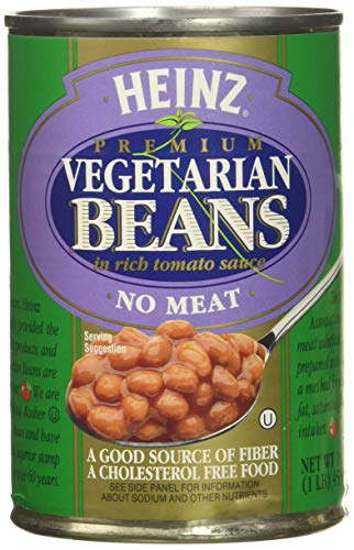 Heinz Vegetarian Beans in Tomato Sauce, 16 oz, 6 pk