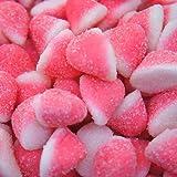 BONBONS MINI BISOUS SUCRE rose et blanc pour bar à bonbons sachet 1kg