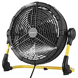 commercial Battery-powered Geek Aire fan, rechargeable outdoor mist fan, high-speed portable metal … outdoor misting fans