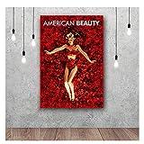 ZFLSGWZ American Beauty Leinwanddrucke Wandkunst Classic