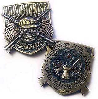 US Army Infantry 11 Bravo MOS Military Coin