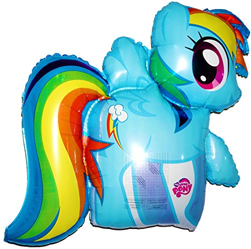Fantastic Floatables Anti-Gravity Hovering Flying Floating MY LITTLE PONY; RAINBOW DASH 28 inch Toy Pet Balloon Party Favor